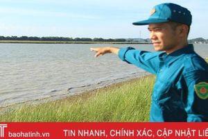 Ngư dân Hà Tĩnh phát hiện 'thần chết' trên sông Lam