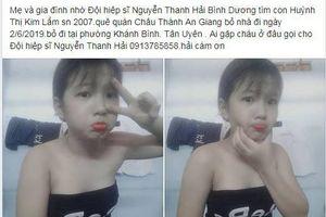 Hiệp sĩ Nguyễn Thanh Hải tìm cô bé 12 tuổi xăm hình trên ngực: Không bị bắt cóc?