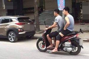 Dân mạng tranh cãi gay gắt khoảnh khắc Đình Trọng, Văn Kiên đi xe máy nhưng không đội mũ bảo hiểm