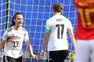 World Cup nữ 2019: Tuyển Đức và Pháp đặt 1 chân vào vòng 1/8