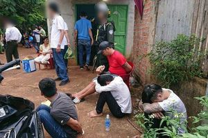 Đắk Lắk: Công an ập vào 5 tụ điểm, bắt hàng chục đối tượng mua bán ma túy