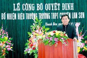 Chiều nay họp kiểm điểm vụ sai phạm tại Trường chuyên Lam Sơn