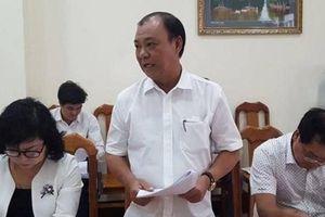Đình chỉ chức vụ ông Lê Tấn Hùng vì sai phạm đất đai