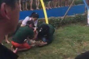 Bé trai hơn 2 tuổi bị đuối nước ở công viên nước hiện đại nhất Thủ đô đã tử vong