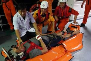 Đà Nẵng: Kịp thời ứng cứu thuyền viên người Liberia gặp nạn trên biển