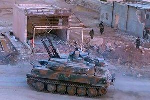Quân đội Syria diệt 3 tay súng IS trên sa mạc gần Palmyra