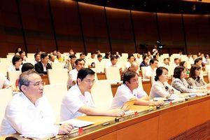 Quốc hội quyết định chủ trương đầu tư đối với dự án quan trọng quốc gia