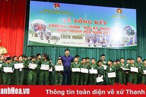 Tổng kết chương trình 'Học kỳ Quân đội' đợt 1 năm 201 9