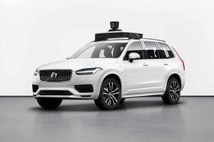 Volvo và Uber công bố dự án hợp tác sản xuất xe tự lái XC90