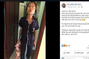Mẹ đẻ tóm áo, xách cháu bé sơ sinh như món đồ ở Bắc Ninh: Công an thông tin chính thức