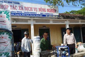 Quảng Ngãi: Cấp máy bơm nước cho dân chống hạn vụ hè thu 2019