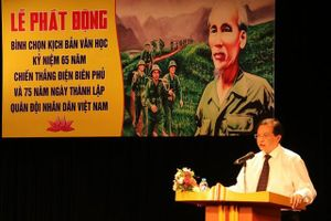Phát động bình chọn kịch bản văn học kỷ niệm 65 năm Chiến thắng Điện Biên Phủ