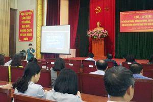 Gần 600 đại biểu công đoàn được tuyên truyền về Luật Phòng, chống tham nhũng
