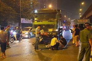 Xe tải tông phía sau khiến một phụ nữ tử vong