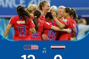 Tranh luận từ tỉ số 13-0 ở World Cup nữ