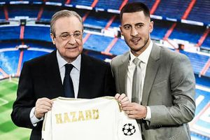 Real để trống số áo của Hazard trong ngày ra mắt