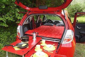 Căn nhà di động trên ôtô dành cho hội thích đi du lịch