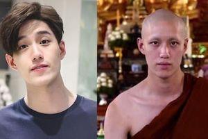 Mỹ nam Thái Lan nổi tiếng vì đóng cảnh nóng mạnh bạo cạo đầu đi tu