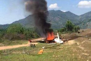 Máy bay quân sự rơi ở Khánh Hòa, 1 đại úy hy sinh trong buồng lái