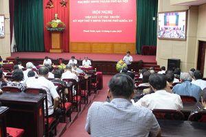 Cử tri Thanh Xuân kiến nghị vấn đề đường sá, chung cư