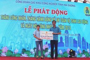 LĐLĐ tỉnh Hải Dương: Hỗ trợ 530 triệu để đoàn viên sửa, xây mới Mái ấm CĐ