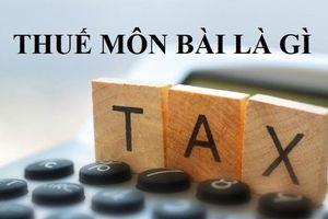 Hộ kinh doanh có phải nộp thuế môn bài?