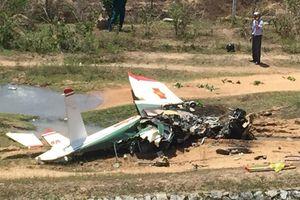Bộ Quốc phòng thông tin vụ rơi máy bay quân sự ở Khánh Hòa