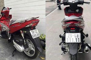 Honda Air Blade cũ rao bán cả trăm triệu ở Việt Nam