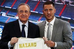 Hơn 50.000 cổ động viên Real Madrid hào hứng chào đón Eden Hazard