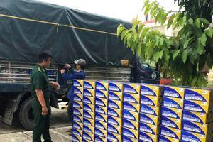 Thu giữ 80 thùng bia nhập lậu từ Campuchia về Việt Nam