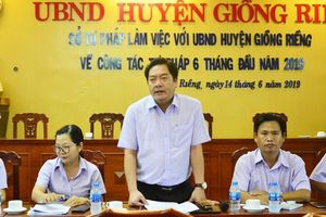 Kiên Giang: Kịp thời 'gỡ khó' cho công tác Tư pháp cơ sở