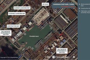 Thâm nhập xưởng đóng tàu chiến 'khủng' của Trung Quốc