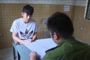 Phú Thọ: Bắt thanh niên kè dao vào cổ, cướp tài sản taxi