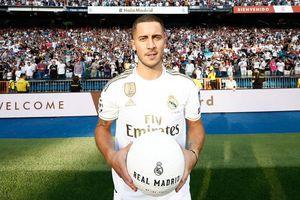 Hazard ra mắt hoành tráng trước 50.000 CĐV Real Madrid