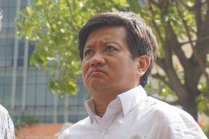 Đơn xin từ chức của ông Đoàn Ngọc Hải được nộp qua văn thư cơ quan