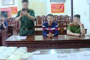 Bắt giữ đối tượng vận chuyển 10kg ma túy ở cửa khẩu Thanh Thủy