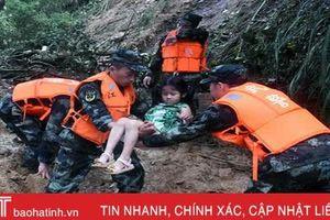 Lũ lụt ở Trung Quốc gây thiệt hại nặng nề, 61 người thiệt mạng