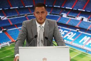 Hơn 50.000 khán giả chào đón Eden Hazard đến Real Madrid: Giấc mơ đã thành hiện thực
