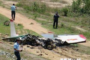 Thông tin chính thức về vụ rơi máy bay quân sự ở Khánh Hòa