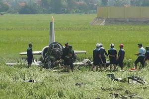Rơi máy bay huấn luyện ở Khánh Hòa khiến 2 phi công tử nạn