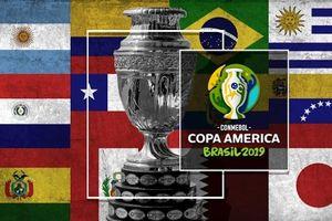 Lịch thi đấu, lịch phát sóng toàn bộ Giải Copa America 2019