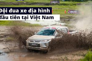 Mitsubishi 'hiến' Triton, bảo trợ đội đua xe địa hình chuyên nghiệp