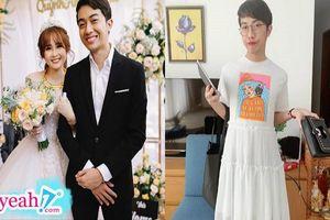 'Lầy lội' như vợ chồng Cris Phan và Mai Quỳnh Anh, lấy nhau về để còn... mặc chung váy