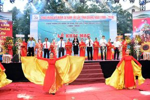 Quảng Ngãi: Khai mạc 'Hội chợ Triển lãm sản phẩm Núi Ấn Sông Trà – 2019'
