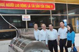 Công đoàn Tổng công ty Thép Việt Nam – CTCP: Thêm nhà ăn ca tự chọn là thêm niềm vui cho người lao động