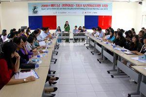 Chung tay chăm sóc sức khỏe cho phụ nữ hồi hương và trẻ em Việt – Hàn