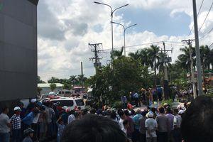 Container lao vào xe ô tô 4 chỗ, 5 người tử vong thương tâm