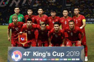 ĐT Việt Nam tiếp đà thăng tiến trên bảng xếp hạng FIFA
