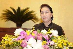 Chủ tịch Quốc hội: 'Các Bộ trưởng cần sớm triển khai những cam kết'
