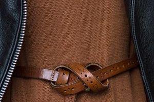 7 kiểu thắt dây lưng 'xịn sò' có thể bạn chưa biết